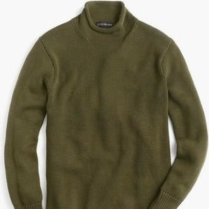 Unisex 1988 Cotton Rollneck Sweater Green